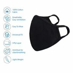 Reusable Outdoor Protection 3 Layer Mask Respirator