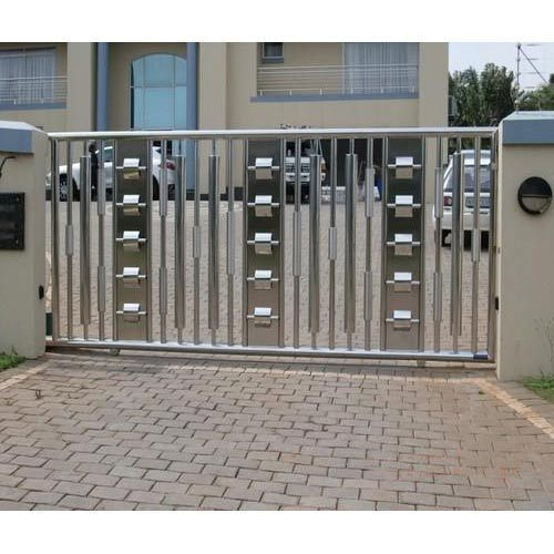 Ss Sliding Main Gate At Rs 1100 Square Feet Sector 21d