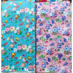 Impressive Artisan Printed Ladies Cotton Suit Fabric for Garments, GSM: 100-150