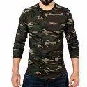 Full Sleeve Military T Shirt