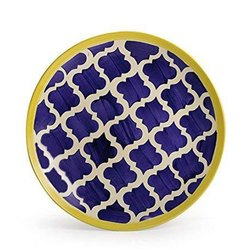 Hand Made Printed Ceramic Plate