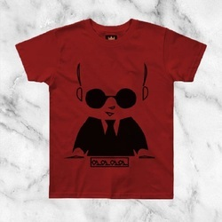 Cotton Round 100% Bamboo Fabric T Shirts, Size: M