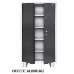 Brown Metal Office Steel Without Locker Almirah