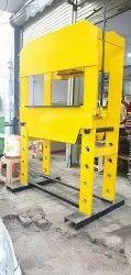 Hand Operated Hydraulic Press Capacity 100 Ton