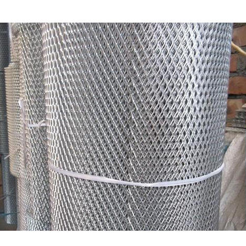 Aluminum Expanded Metal Mesh Usage Industrial Domestic