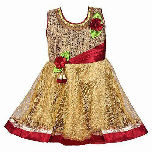 8c85d5be4657 Net Regular Wear Baby Fancy Frock, Rs 480 /piece, Amee Creation | ID ...