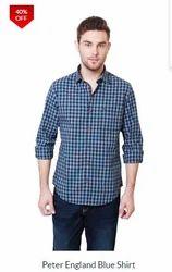 PE Blue Check Shirt