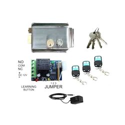 Electronic Door Lock for House Main Metal Door, Gate, To Operate By Remote