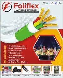 Foliflex Round Multicore Wires & Cables