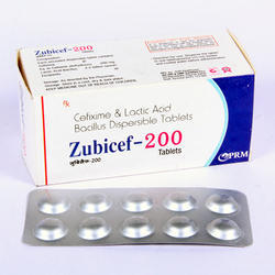 Cefixime 200mg Lactic Acid Bacillus Dispersible