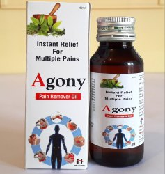 PCD Pharma Franchise Service Of Agony Pain Remover Oil