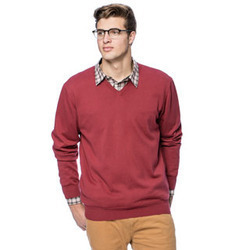 a59b4ee652d1 Mens Cotton V-Neck Sweater