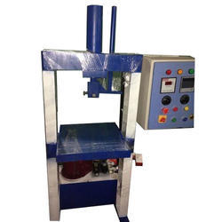 Single Die Semi Hydraulic Buffer Plate Making Machine
