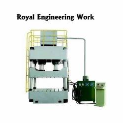 Hydraulic Pillar Press Double Cylinder Machine