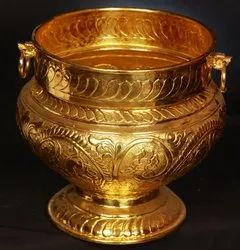 Indian brass handicrafts