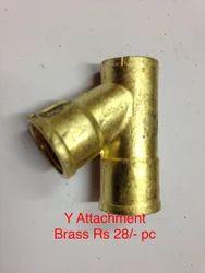 Y Attachment Brass for Spray Gun