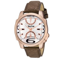 Brown Gents Leather Watch