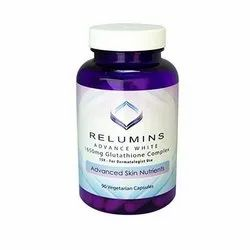 Relumins 1650mg Glutathione, Packaging Type: Bottle