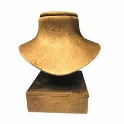 Wood Necklace Stand