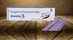 Contraceptive Tablets (Ethinylestradiol 0.03 Mg & Desogestrel 0.02 Mg)