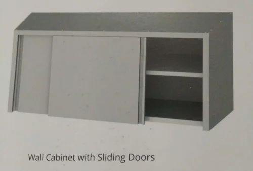 Kenaska Steel Wall Cabinet With Sliding Door