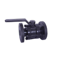 3pc. Flanged End Hdpe Ball Valve, Size: 1 - 8 Inch, For Industrial