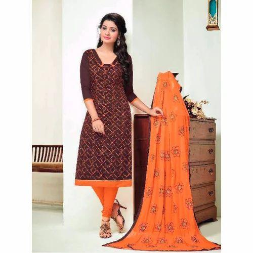 70af7bd784 Casual Wear Chanderi Ladies Suit, Rs 750 /piece, Sivaanta ...