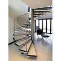 Ss, Ss Silver Steel Stair Railing