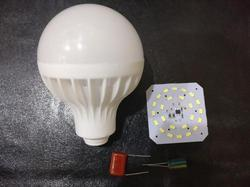 Chinese B22 C Series Led Bulb, 5000-6500 K, Shape: Round