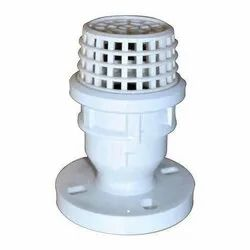 PP Foot Valve Flanged