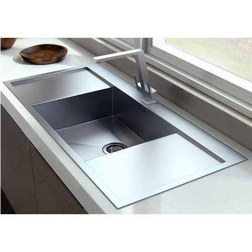 Single Bowl Sink With Double Drainboard