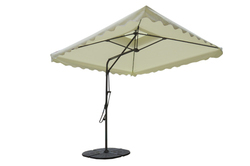 Patio Umbrella-Side Pole-Pull Push-2.5M-Beige