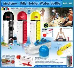 Medicine Pill Holder Water Bottle, Capacity: 750 Ml