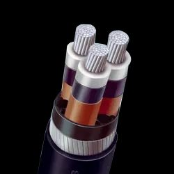 H.T XLPE Aluminium Armoured Cable 11KV 3 Core 95 mm