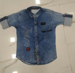 Fancy Denim Shirt