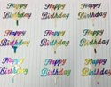 Medium Milky Happy Birthday Cake Tag Topper