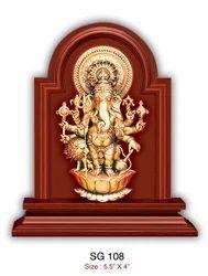 Sri Shubha Drishti Ganapathy Religious Frame