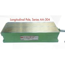 Longitudinal Pole Heavy Duty Multicoil Electromagnetic Rectangular Chuck