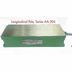 Longitudinal Pole Heavy Duty Melticoil Electromagnetic Rectangular Chuck