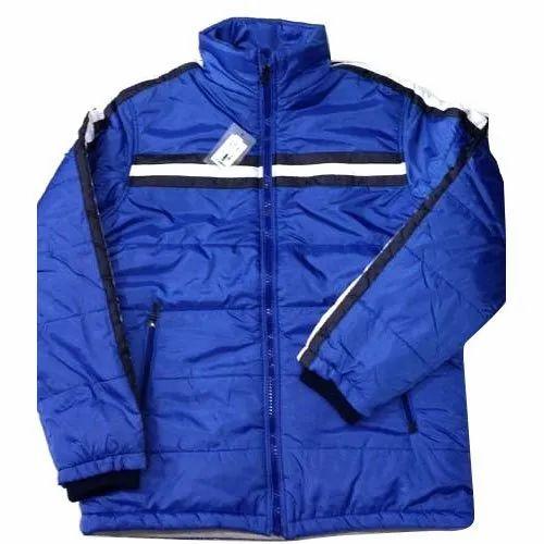 4b05075ed2a6c Women Royal Blue Winter Jacket NS Jacket Wind Cheater, Size: XL, Rs ...