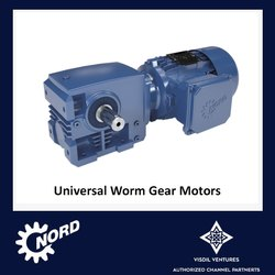 Worm Gear Motors - Universal