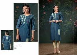 Vastra Moda Denim Vol 1 Premium Cotton Kurti