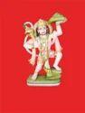 Pawan Sutra Hanuman Marble Statue