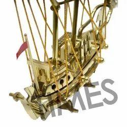 Times Creation Golden Nautical Brass Ship Models