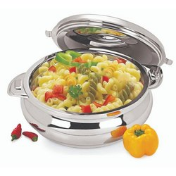 Esteelo Stainless Steel Non Electric Food Warmer Hot Pot