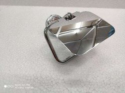 Silver Stainless Steel SS Toilet Paper Holders with Flap, For Bathroom, Size: Medium