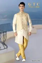 Party Wear 400 colours are available Desginer Kurta With Modi Jacket, Dry clean