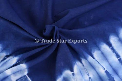 Tie Dye Print Tie Dye Indigo Cotton Fabric