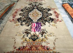 Erased Oriental Rug