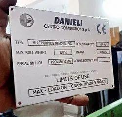 Aluminum Label